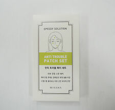 ACNE Dressing Pimple Stickers Missha Anti Trouble Patch 8 sheets 96 patches