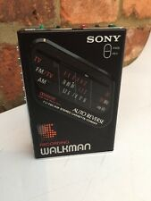 Vintage Sony WM-F203 Walkman Portable Radio/Cassette Player Corder - Rare