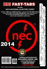 2014 National Electrical Code NEC Fast-Tabs by Builder's Book (Paperback) NEW