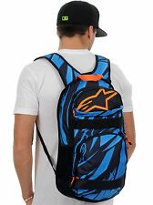 ALPINESTARS RACING MENS OPTIMUS BLUE ORANGE BACKPACK SKATE CARRY