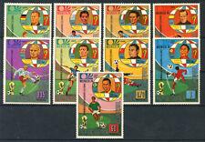 1974 - GUINEA EQUATORIALE - LOTTO/20175 - MONDIALI DI CALCIO 9v. - NUOVI