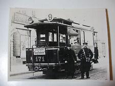 GER1055 - 1900 LEIPZIGER ELEKTRISCHE TRAM No171 PHOTO Deutsche Straßenbahn