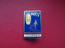 N°51 insigne religieux médaille religieuse diocèse Notre Dame de Lourdes NKV