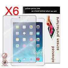 6x iPad Air 1 2 iPad Pro 9.7 Premium HD Anti-glare/Fingerprint Screen Protector