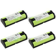 4 Cordless Phone Battery for Panasonic HHRP105 HHR-P105