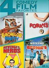 Bachelor Party/Porkys/Revenge of the Nerds/Weekend at Bernies (DVD, 2014, 4-D...