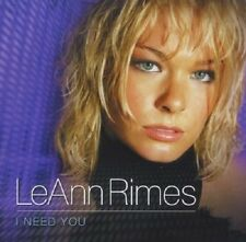 LeAnn Rimes I Need You CD 2001 Country