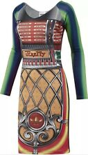 Jeremy Scott Jukebox Dress Size Large