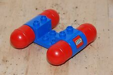 Lego Duplo Low Car Blue Red