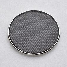 "2pcs 4""inch Car Speaker decorative circle Thick protective grille chrome ring"