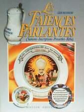 BOOK/LIVRE : FAIENCES PARLANTES   ROUEN,CREIL,NEVRES ..