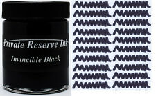 PRIVATE RESERVE - Fountain Pen Ink Bottle - INVINCIBLE BLACK -  66ml - New