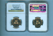 2004 CANADA DOLLAR  TEST TOKEN TTS-4  NGC MS-66