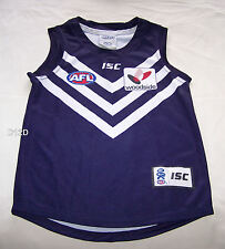 Fremantle Dockers AFL Boys ISC 2011 Home Guernsey Jersey Size 10 New