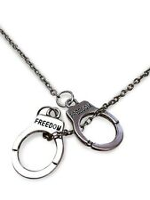 Fifty Handcuffs Pendant Necklace Shades of Grey 50 Hen Do Party FREE GIFT BAG!