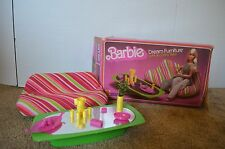 Vintage 1977 Barbie Dream Furniture Sofa and Coffee Table 2474