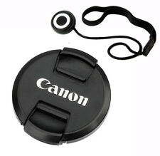 77mm Snap-On Lens Cap + Lens Keeper for Canon DSLR Lens replaces E-77U