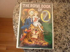 The Royal Book  of Oz By L. Frank Baum. In dust jacket. 1921 edition but  later