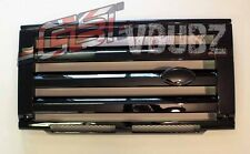 Gloss Black SVX style front grille&headlamp kit Land Rover Defender 90 110 GB65