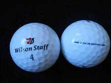 "20  WILSON STAFF ""DX3 SPIN"" - 2016 MODEL - Golf Balls - ""MINT/PEARL"" Grades."