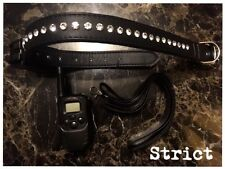 Bondage posture collar diamond lead SHOCK fetish gimp mistress 5*HIGH QUALITY
