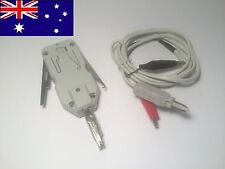NBN TELSTRA MINI PUNCH DOWN TOOL KRONE and Test Lead loop a line, not a pit key