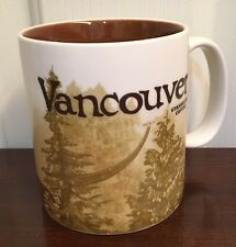 Starbucks 2009 Collector Series Global Icon Vancouver Mug 16 oz.