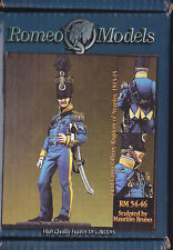 ROMEO MODELS - RM 54-046 - 54mm FIELD CAMP OFFICER KINGDOM OF NEAPLES 1813-15