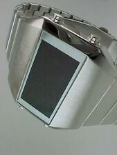 Rare old style modern futuristic 70s seventies space age mens led l.e.d watch 2