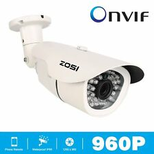 ZOSI 960P 3.6mm CCTV 36 IR Leds Camera Home Security Day Night Waterproof Camera