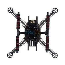 S500 Quadcopter Fuselage Frame Kit PCB w/ Carbon Fiber Landing Gear Skid Upgrade