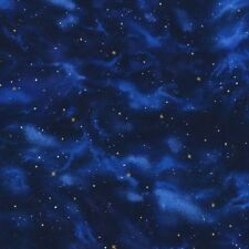 Stargazers By Robert Kaufman-BTY-Stars-Night Sky-Space