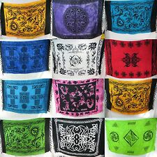 US SELLER-10pcs tribal sarong altar cloth wicca pagan wall hanging bedspread