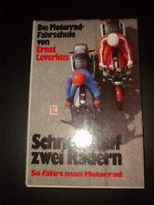Schnell auf zwei Rädern Ernst Leverkus 1982 Die Motorrad-Fahrschule