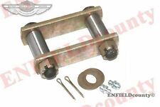 COMPLETE HEAVY DUTY FRONT LEAF SPRING SHACKLE KIT WILLYS CJ FORD JEEP @ ECspares