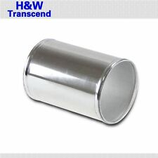 "ALUMINUM COUPLER PIPE JOINER HOSE CONNECTOR POLISHED 76mm 3"" inch"