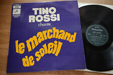 TINO ROSSI chante lw marchand de soleil french LP Columbia 10.552