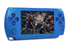 """NEW A8 4.3"""" 8GB Touch Screen Game Console Player Camera MP3 MP4 MP5 Blue UK"""