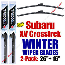 WINTER Wipers 2-Pack Premium Grade - fit 2013-2015 Subaru XV Crosstrek 35260/160