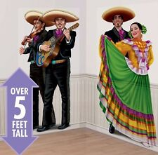 Spanish Fiesta Dancers & Mariachis Scene Setter Party Supplies Decoration Poster