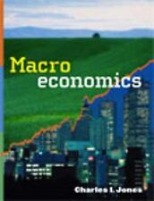Macroeconomics : Economic Crisis Update by Charles I. Jones (2008, Hardcover)