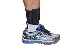 Black Nylon RH Ankle Holster For Ruger LCP 380 With Laser