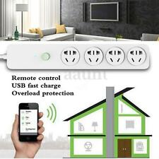 USB WiFi Smart Home Extension Sockets Switches Remote Control Timing Plug Power