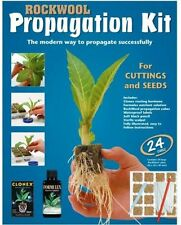 Rockwool Propagation Kit - Tray of 24 Cubes. Clonex Rooting Gel, formulex, +more