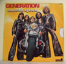 "33T ANARCHIC SYSTEM Disque Vinyle LP 12"" GENERATION Rock DELPHINE 700.005 Rare"