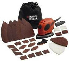 Black & Decker Detail Mouse Electric Hand Sander With Accessories Wood Floor NEW