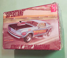 AMT 1969 Superstang Street 'n Strip Ford Mustang Original Kit Empty Box 69 T-241