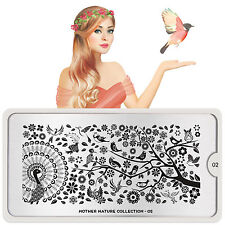 MoYou London Stamping Schablone Mother Nature Collection # 02