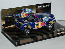 Minichamps 436 055303 Volkswagen Touareg Rally 2005 In Blue 1/43rd scale