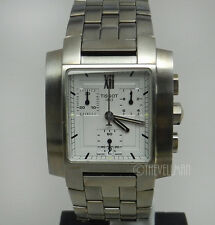 Mens Authentic Swiss Made Tissot Chronograph TXL Rectangular Watch T60158733